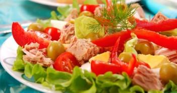 Tuňákový salát, rychle a zdravě!