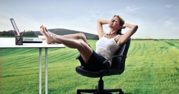 Nechte opadnout napětí celého dne, aneb zasloužený odpočinek po práci.