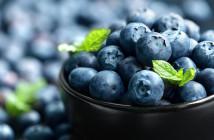 Borůvky- zdroj vitamínů prospěšných pro celý organismus.